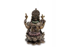 Ганеш - Бог мудрости и благополучия Алтарная статуэтка высота 8 см