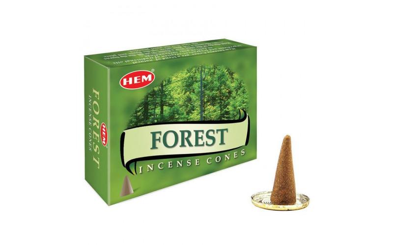 Благовония-конусы HEM Forest Лес