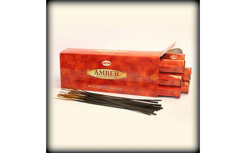 Благовония HEM Hexa Amber Амбер