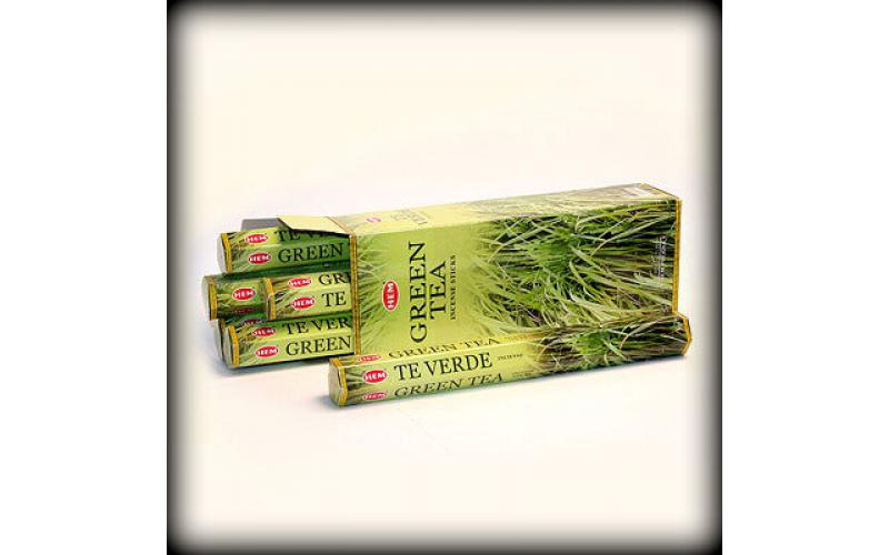 Благовония HEM Hexa Green Tea Зеленый чай