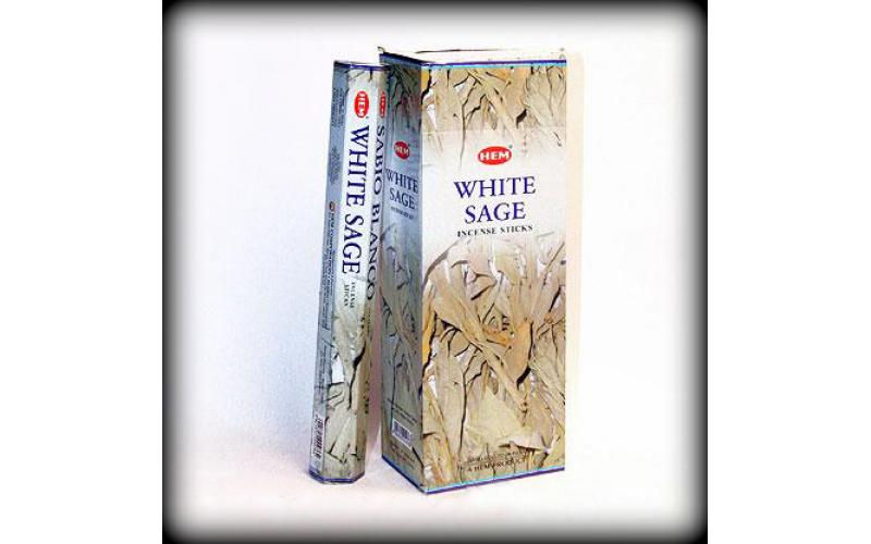 Благовония HEM Hexa White Sage Белый шалфей
