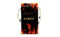 Мешочек для карт Таро Пентаграмма Волшебный огонь (бархат)
