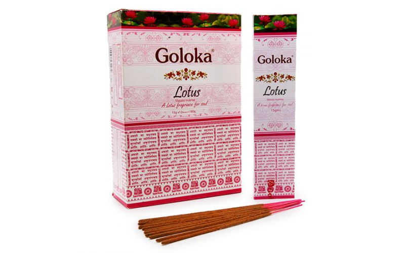 Пыльцовые благовония Goloka Лотос