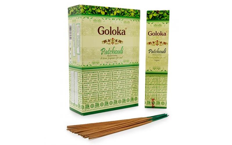 Пыльцовые благовония Goloka Пачули