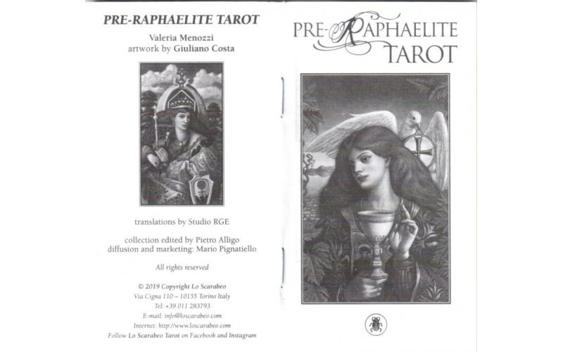 Таро Прерафаэлитов Джулиано Коста (Pre-Raphaelite Tarot)