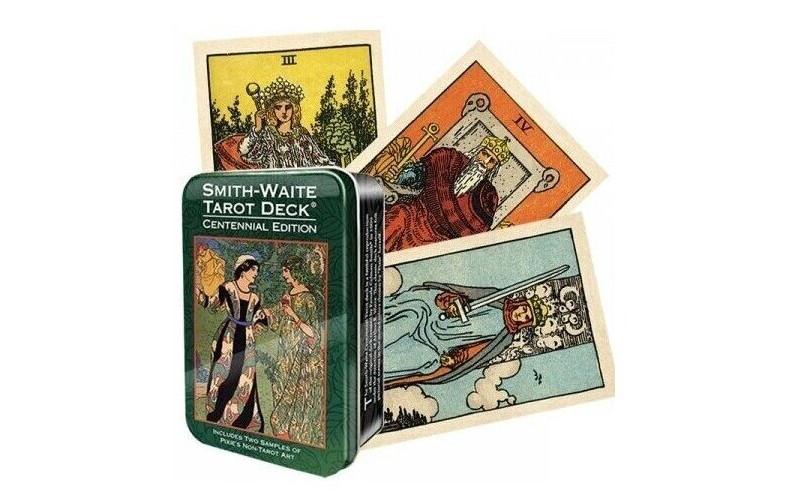 Таро Уэйта-Смитт Памеллы Таро в жестяной коробке / Smith-Waite Centennial Tarot in a Tin