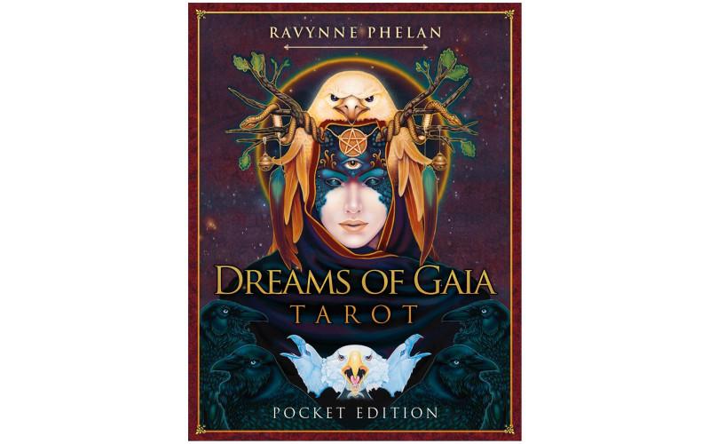 Pocket dreams of Gaia tarot Таро мечты Гайи карманный вариант